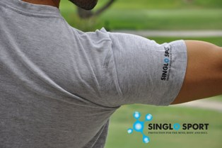 Antimicrobial Singlo T Shirt
